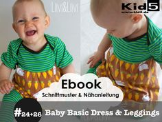 ★ ebook SET  Babykleid & Leggings  von Kid5  auf DaWanda.com