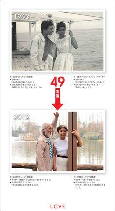LOVE:1963年 → 2012年