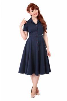 Caterina Vintage Swing Dress