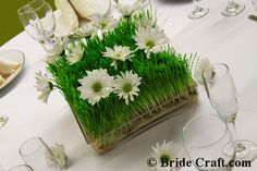 Grass center piece