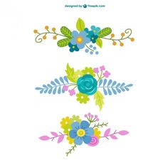 Flowers Vector Free Stock Photos 31 Ideas For 2019 Hand Embroidery Patterns, Print Patterns, Embroidery Designs, Flower Graphic Design, Eid Crafts, Flower Clipart, Planner, Flower Cards, Fabric Painting