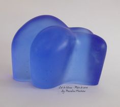 Pascaline Fontaine #Sculpture #Pâte de verre #castedGlass #glass Cul de Vénus by