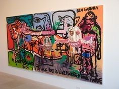 Bjarn Melgaard, Bjarne Melgaard Jan Van Eyck, Institute Of Contemporary Art, Self Destruction, London Art, Artist At Work, Art World, Primitive, Art Gallery, Paintings