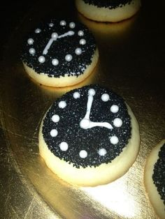 Cookies at a New Year's Party #newyear #partycookies
