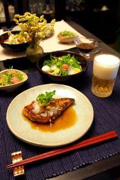 カジキの和風ステーキ&えびと春雨のサラダ by shoko♪さん | レシピ ...