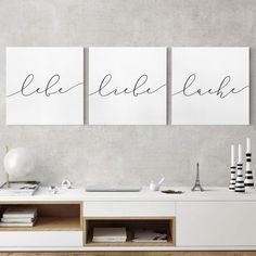 """Bild /""""Do what you love/"""" Wandbild Kunstdrucke Leinwandbild Wanddekoration Deko"""