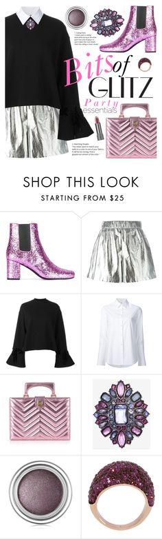 """Bits of Glitz"" by ivansyd ❤ liked on Polyvore featuring Yves Saint Laurent, M Missoni, Steve J & Yoni P, Misha Nonoo, Gucci, Christian Dior, Henri Bendel and Bite"