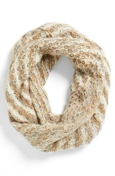 striped infinity scarf / nordstrom