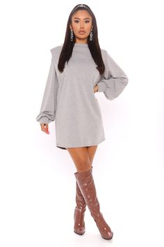 Trendy Outfits, Cute Outfits, Fashion Outfits, Hijab Fashion, Fashion Clothes, Swimsuits For Curves, Women Swimsuits, White Dresses For Women, Grey Dresses
