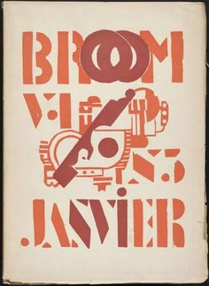 Broom magazine published from 1921 to 1924 It was instrumental in introducing Americans to Europe avant-garde art through the reproduction of works. Broom was founded by novelist Harold Loeb and the editor of the magazine was Alfred Kreymborg. Italian Futurism, Avant Grade, Laszlo Moholy Nagy, Avant Garde Artists, Buch Design, Man Ray, Henri Matisse, Journal Covers, Famous Artists