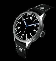The Aviator Watch Stripped: Archimede Pilot H Is A Likeable Bare Bones Genre Exemplar Watch Releases Simple Watches, Cool Watches, Rolex Watches, Mens Designer Watches, World Watch, Best Watches For Men, Watch Photo, How To Be Likeable, Sport Watches