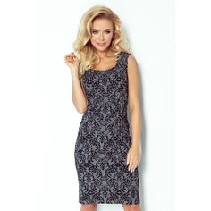 Push up 80399 Anabel Arto Office Dresses, Office Outfits, Day Dresses, Skirt Fashion, Fashion Dresses, Elegant Dresses, Formal Dresses, Office Fashion, Gray Dress