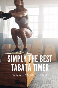 Tabata is the ultimate HIIT routine and the Gymboss is the perfect timer to get the job done. Stop staring at the clock and start maximizing your intensity. Tabata Workouts, Hiit, Training Programs, Workout Programs, Lunges, Squats, Ray Ray, Mma Boxing, Workout Regimen