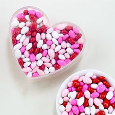 What's the decor? To fill the apothecary jars. Valentine sunny seed drops - World Market $2.99.