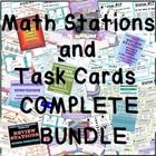 Included:  ALL of my middle school math stations and task cards ( that I have created so far.  I will update the file every time I post a new set o...