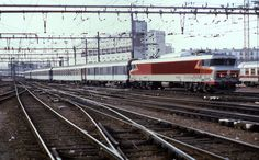 02.08.85 Paris Gare de Lyon CC 6557 | Flickr - Photo Sharing!