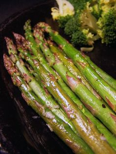 Garlic Honey Asparagus 3PP