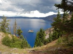The only National Park in Oregon. Home to the deepest lake in the USA at 1949 Feet Deep! Crater Lake National Park, National Parks, Oregon Trail, Pacific Northwest, Tours, Deep, Dreams, Explore, Mountains