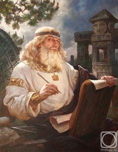 Шишкин Андрей. Числобог Числобог - в славянской мифологии - бог времени и звездочетства, букв, чисел, календаря и всем что с этим связано. К нему обращались в заговорах и при магических обрядах