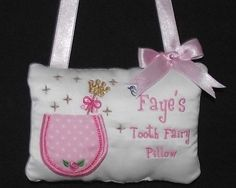 Personalised Tooth Fairy Pillow for Boy or Girl | eBay