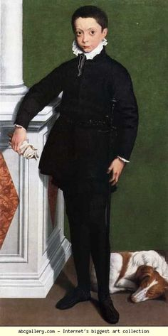 Sofonisba Anguissola. Portrait of Massimiliano Stampa, Third Marchese of Soncino