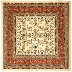 Safavieh Lyndhurst LNH331R Ivory - Rust Area Rug   http://www.arearugstyles.com/safavieh-lyndhurst-lnh331r-ivory-rust-area-rug.html