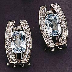 Dreambase Damen-Ohrschmuck Ohrstecker 40 Diamant-Brillanten 14 Karat (585) Weißgold 0.30 ct. 2 Topas Dreambase http://www.amazon.de/dp/B0097PED6G/?m=A105NTY4TSU5OS