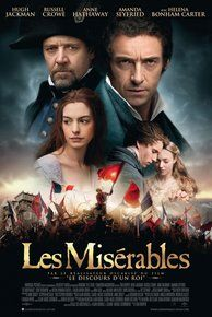 Loved Anne Hathaway and Hugh Jackman's performance in Les Miserables, very real, deep and dramatic performances.