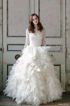 Sareh Nouri Spring 2015 Wedding Dresses | Wedding Inspirasi