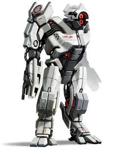 Mass Effect 2. Mech - Front