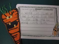 Creepy Carrots - Polka Dot Kinders: Creepy Carrots! and Let's Get Aquainted