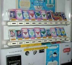 Dirty panty vending machine