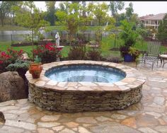 Inground Pools Photos | Pools of Fun Fire| Pools of Fun Fire pit idea  @Dana Martin  we need a pool like this! Description from pinterest.com. I searched for this on bing.com/images