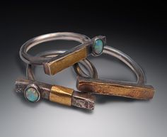 STACKING OPAL RINGS PATRICIA MCCLEERY