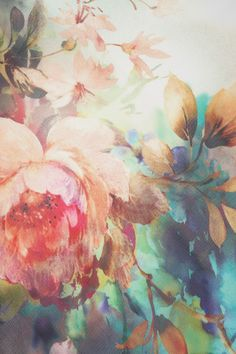 lawhimsy: Floral dreams in muted colors, blooming beauty, soft and indulgent…awake I must, for spring draws nigh and with it my soul shall sign and fly… ~ La Art And Illustration, Illustrations, Poster Mural, Poster S, Poster Ideas, Motif Floral, Floral Prints, Floral Design, Textures Patterns