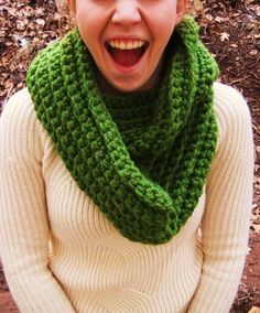 Wool Scarf for St. Patrick's Day