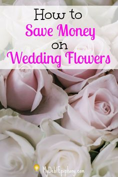 How to Save Money on Wedding Flowers. Weddings can be very expensive so saving on the things like flowers can help make the process a bit less stressful.