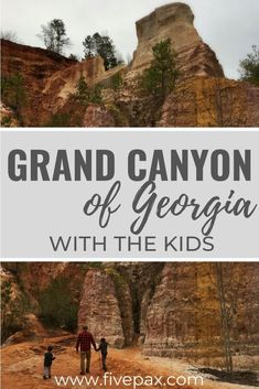 Providence Canyon State Park in Georgia, better known as Georgia's Little Grand Canyon sits just two and a half hours southwest of Atlanta. We have all the tips and tricks you need for a great visit with the kids for hiking, camping, or picnicking. Caprock Canyon State Park, Pedernales Falls State Park, Myakka River State Park, Letchworth State Park, Florida Caverns State Park, Wisconsin State Parks, Georgia State Parks, New York State Parks, Georgia Usa