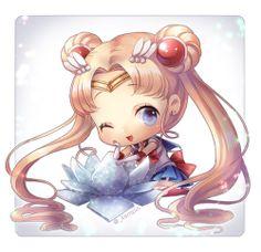 Sailor Moon by kimpin