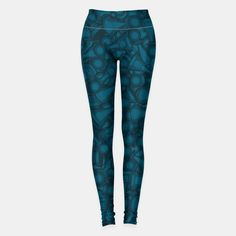 All The Right Chess Moves Leggings, Live Heroes