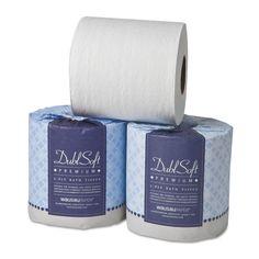 Wausau DublSoft Bath Tissue 2-Ply 80 Rolls/Carton