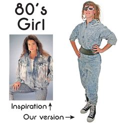 80's #costume #DIY #Halloween