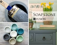 Fusion mineral paintin Soapstone fromthe Penney & Co. Collection - available atMy Painted Door (.com)