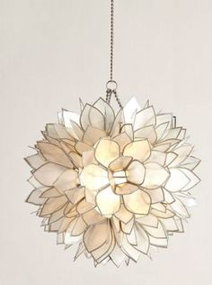 Flower Burst Mini Pendant Light by Horchow