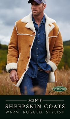 Sheepskin naturally retains body heat, wicks moisture and offers durable, multi-climate comfort. Sheepskin coats effortlessly keep you warm and dry throughout the seasons with elegance and style.
