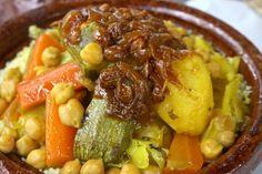 Tfaya - Moroccan Garnish of Caramelized Onions and Raisins
