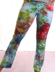 LG - Ice tie-dye yoga pants