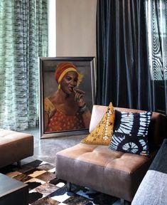 100% fait main par nous African Fabric, Fabrics, Lounge, Couch, Furniture, Collection, Home Decor, Linens, Home Decoration