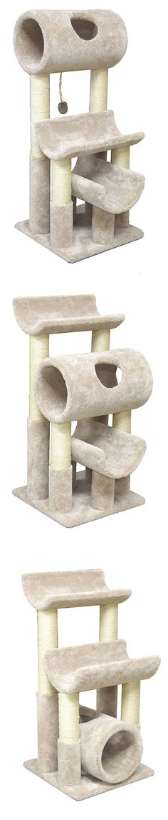 3-in-1 Convertible Cat Tree Lounger-CrazyCatCondos.com-Cat Furniture Purrfect for kittys , Cat Condos ,Cat Gyms For Cat Climbing Kitty Napping Cat Lounging For all Cats and kittens