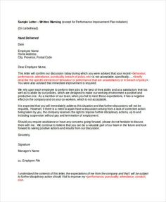 Absence without intimation warning letter format stuff to buy 9 employee warning letter template pdf doc free premium templates spiritdancerdesigns